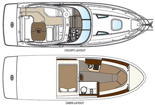 Sundancer 260Floorplan